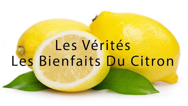 Les bienfaits du citron et de l'eau citronnée