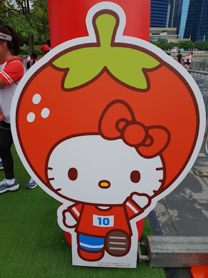 Hello Kitty Run Singapore 2018 Strawberry Pit Stop by Sweet Bunny Blogger
