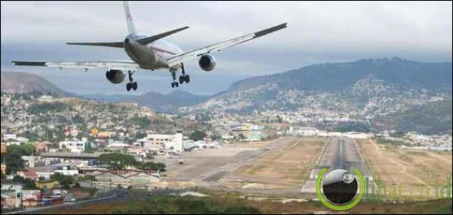 Toncontin International Airport, Honduras
