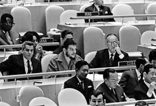 Nuevamente el Che, en la ONU.
