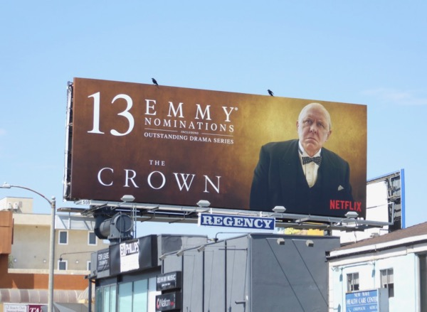 Crown 13 Emmy nominations billboard