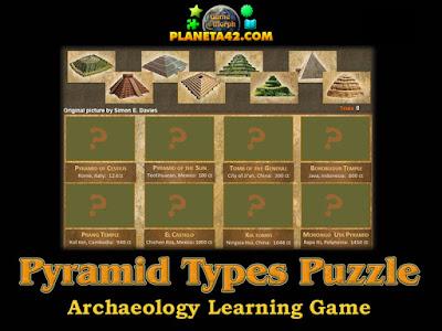 Видове пирамиди пъзел