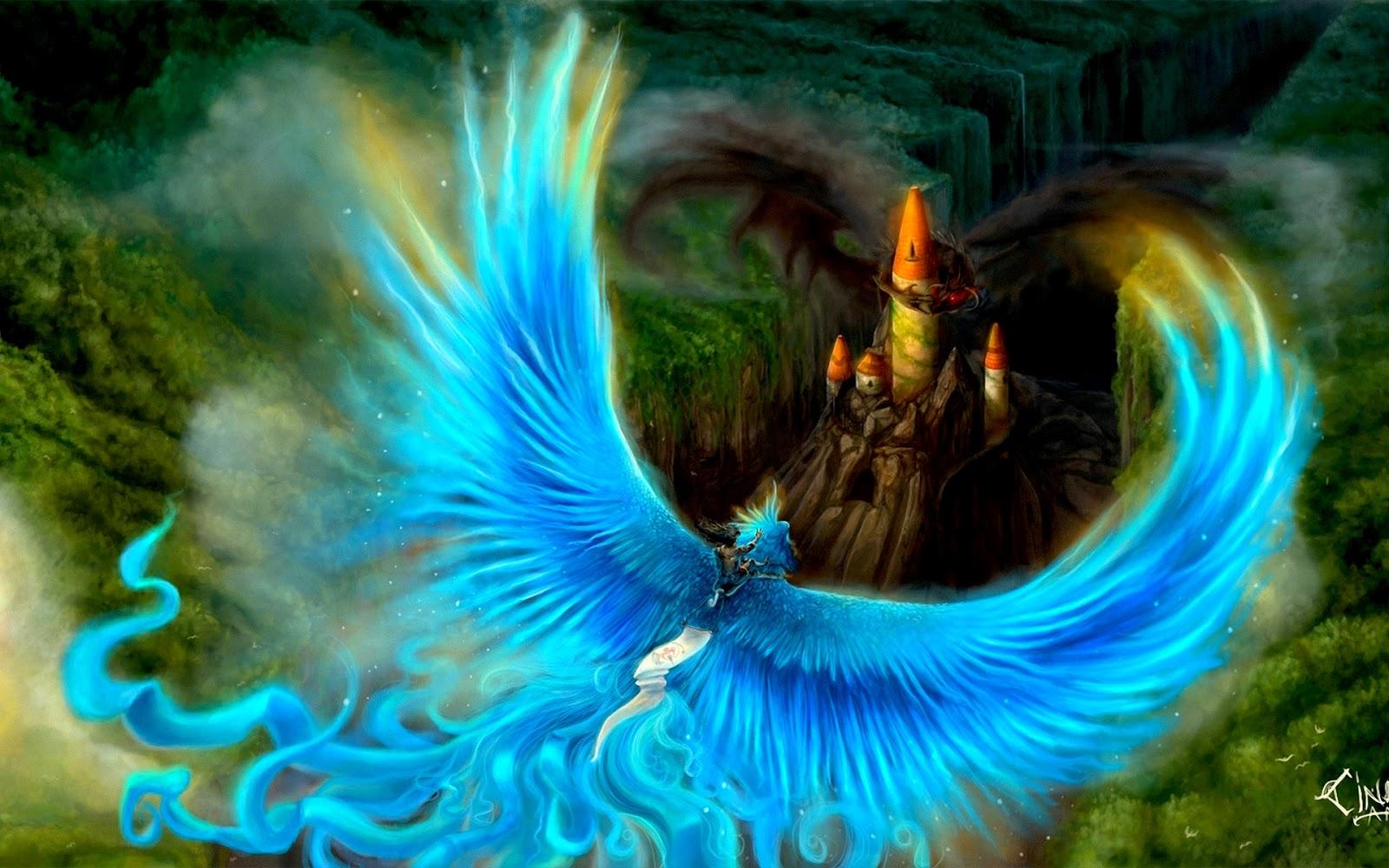 Wall Hit: Blue Phoenix
