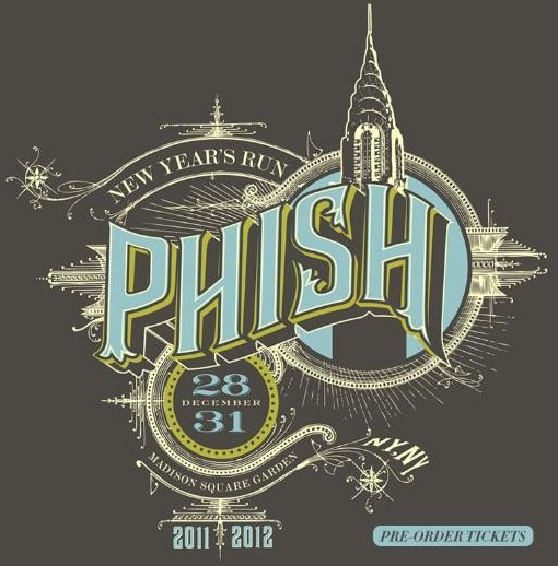 Coventry Music: Phish 2011 New Year's Eve Run At MSG
