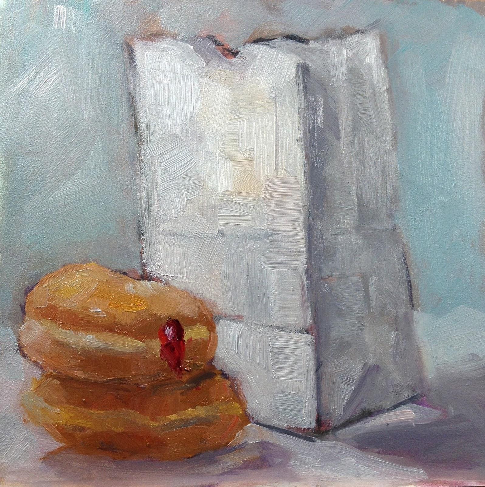 Carol Josefiak Painting A Day 2013 08