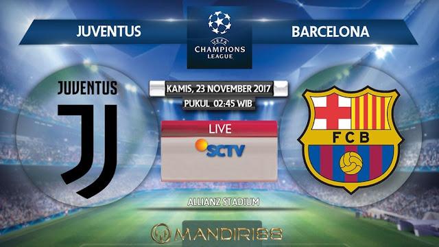 Prediksi Bola : Juventus Vs Barcelona , Kamis 23 November 2017 Pukul 02.45 WIB @ SCTV