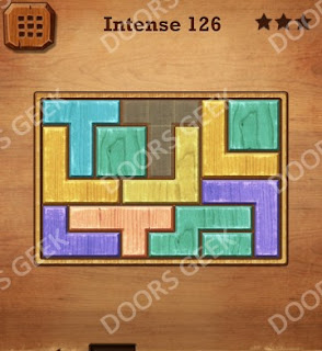 Cheats, Solutions, Walkthrough for Wood Block Puzzle Intense Level 126
