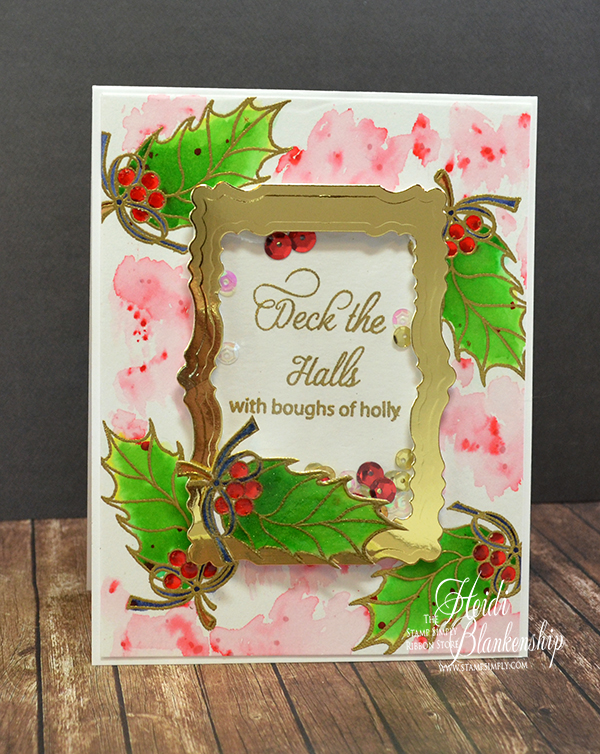 Here Is The Card That I Designed. For The Stamps I Used The New SS 012  Christmas Blessings From Stamp Simply Clear Stamps. I Love The Wonderful  Sentiments ... Gallery