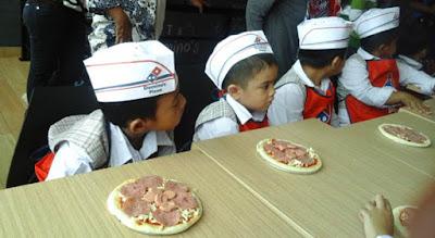 Kunjungan ke dapur domino's pizza meruya kembangan