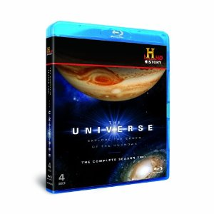 The Universe Season 2 Set of Blu-ray disks