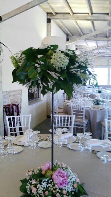 Decoramos la escena del banquete de tu boda