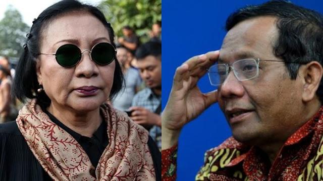 Sindir Mahfud MD sebagai Pejabat BPIP, Ratna Sarumpaet: Profesor Kok Gak Mikir