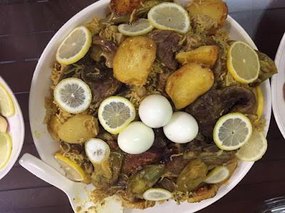 Bila suami masuk dapur; resepi nasi arab; resepi nasi daging