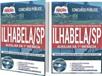 Apostila Prefeitura de Ilhabela - SP 2017