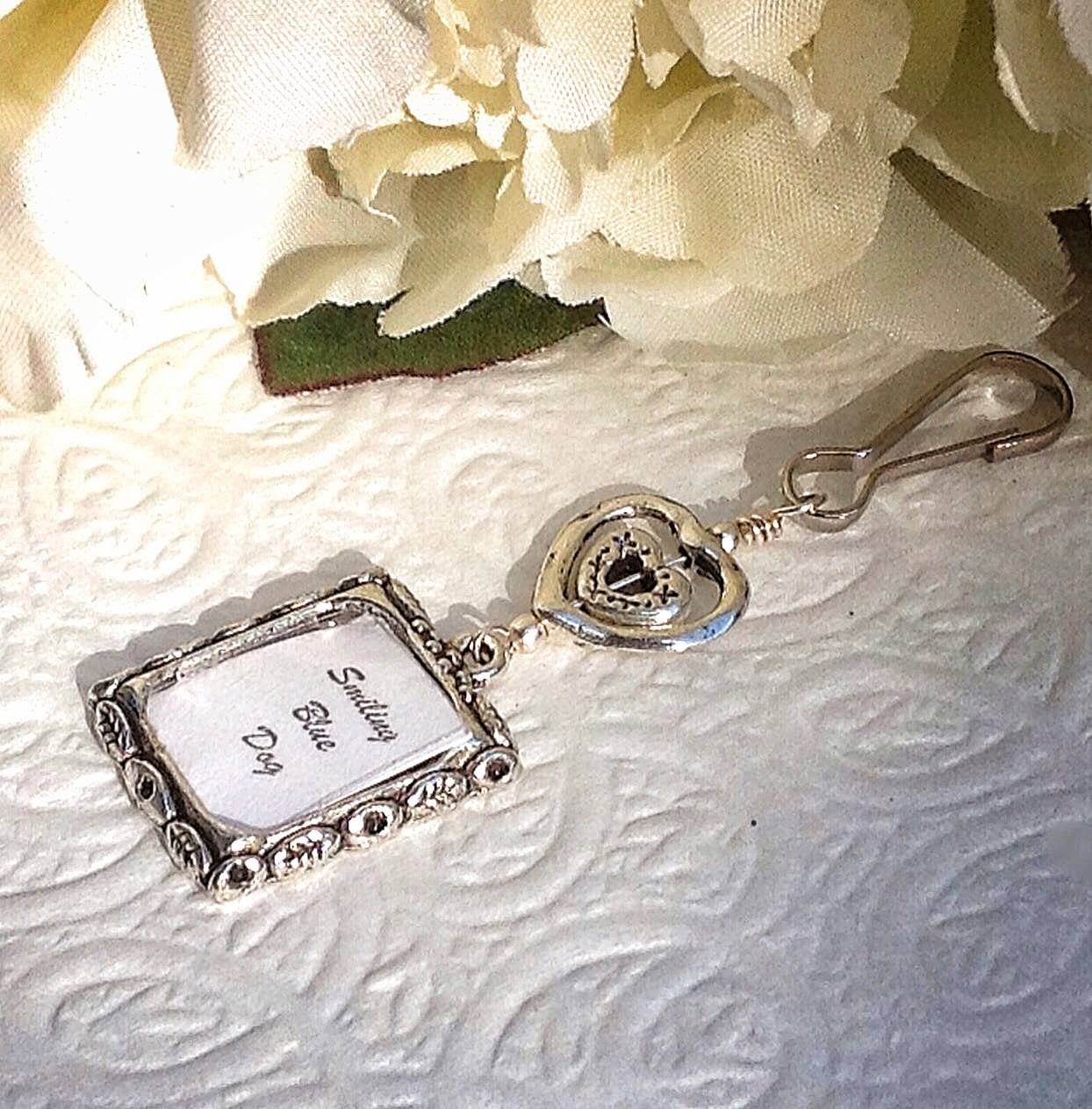 Wedding Bouquet Photo Charms | Handmade and Hitched