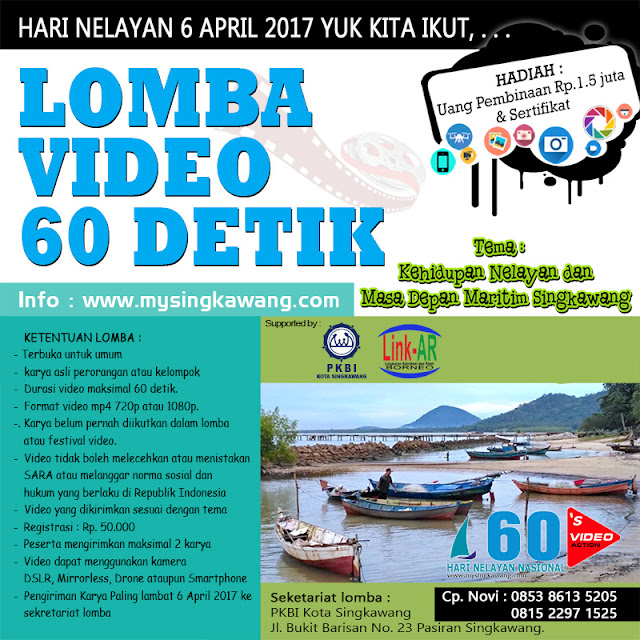 lomba video singkawang