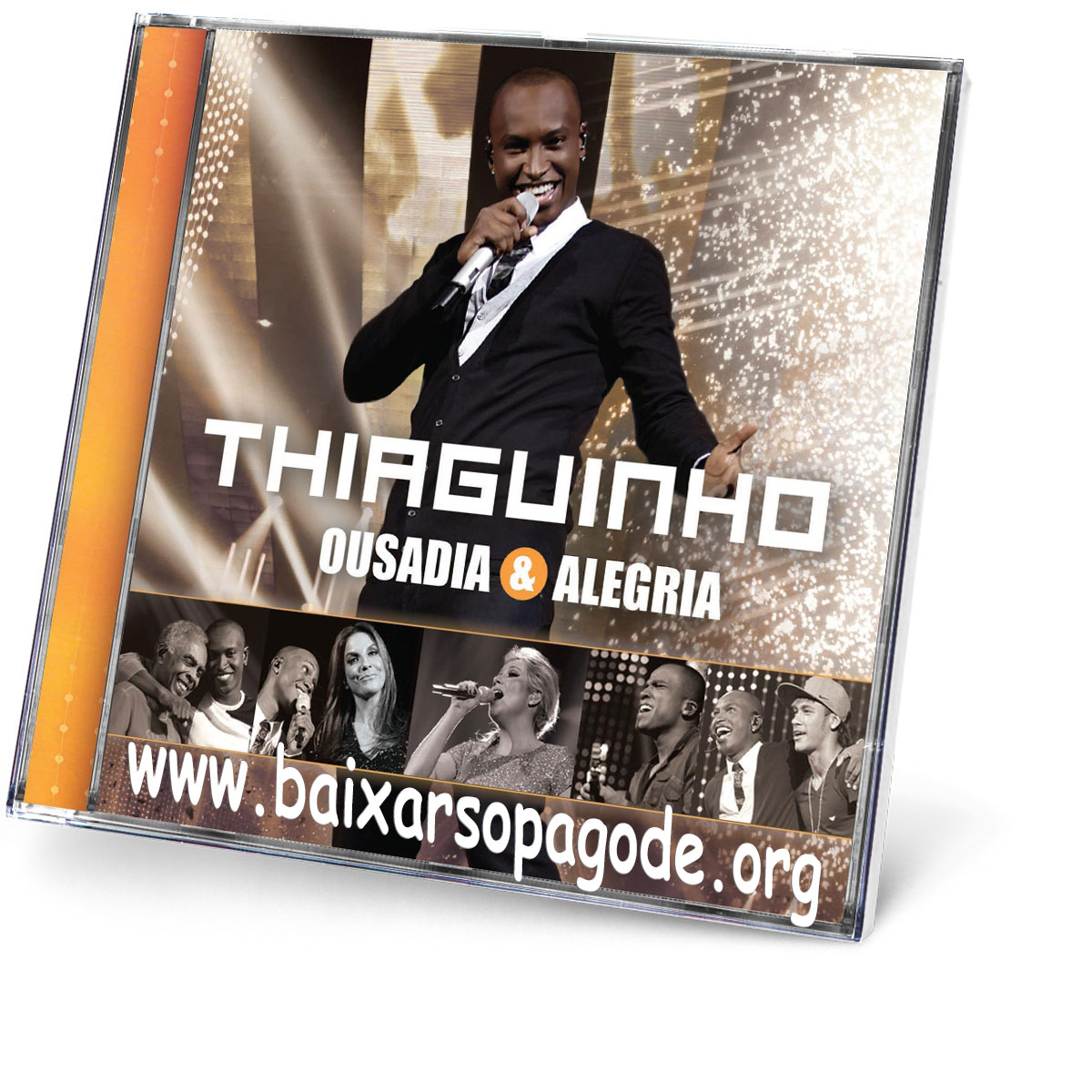 CD Thiaguinho – Ousadia & Alegria (2012)