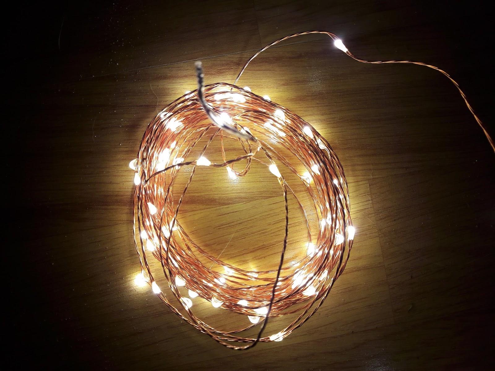 Schön Lichterkette Richtig Anbringen Design