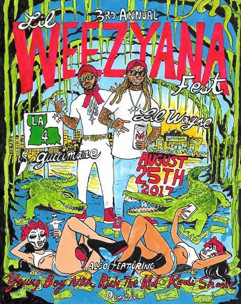 cartel festival fest lil weezyana