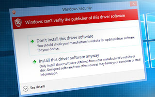 How to Disable Driver Signature Verification