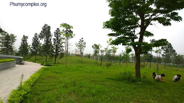 Công viên xanh Ngoại giao đoàn