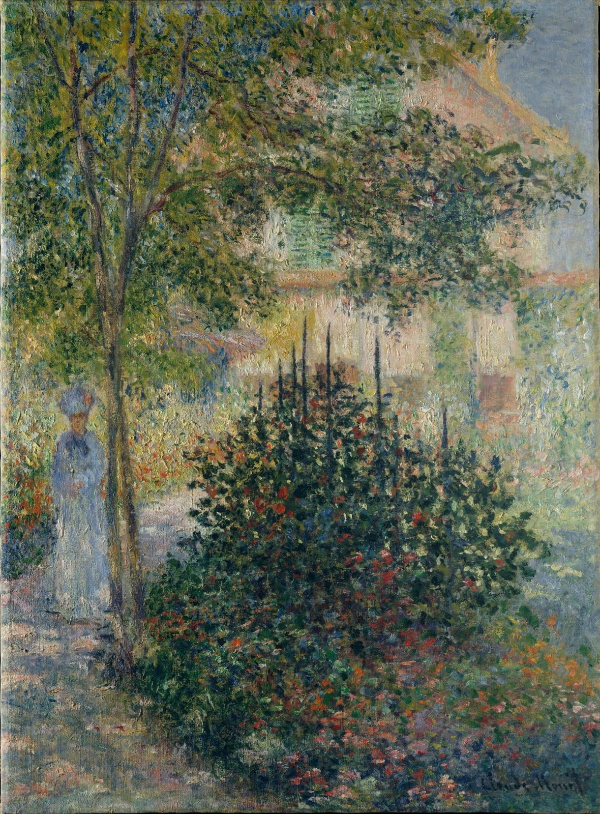 Claude-Monet-Camille-in-the-garden-at-Argent