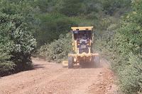 Prefeitura de Catingueira inicia recuperação das estradas da Zona Rural