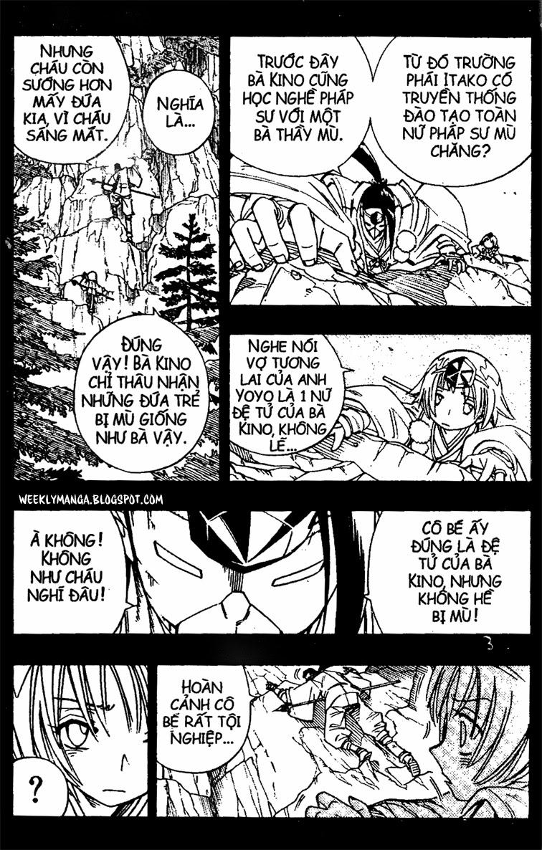 Shaman King [Vua pháp thuật] chap 164 trang 16