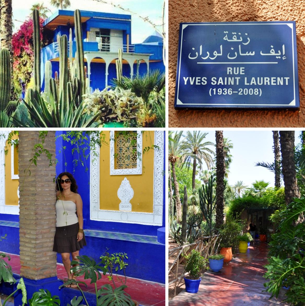 Jardin Yves Saint Laurent Marrakech: Yves Saint Laurent's Majorelle Garden