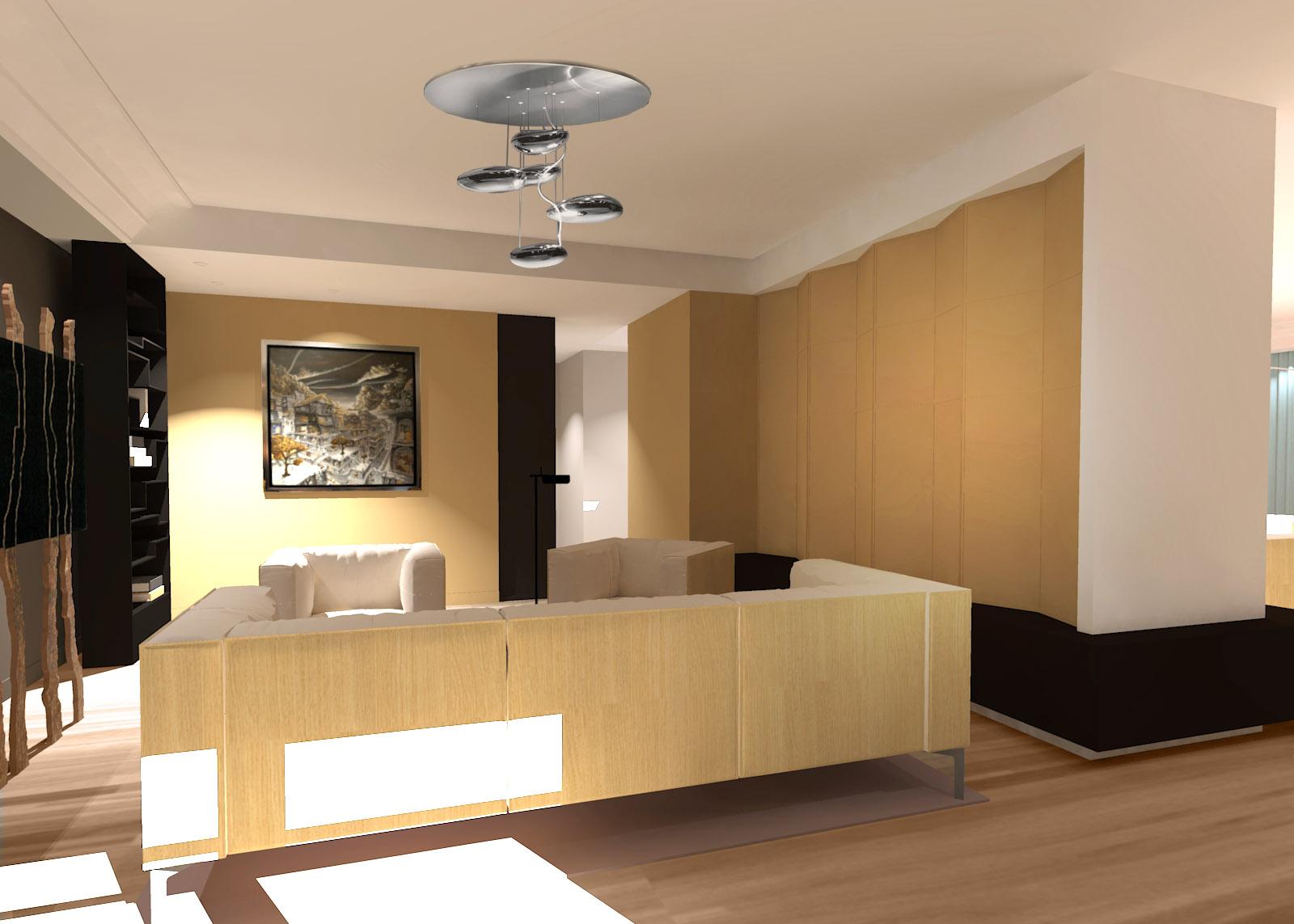 am nagement int rieur maison h abw warnant architecte. Black Bedroom Furniture Sets. Home Design Ideas