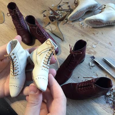 Zapatos miniatura