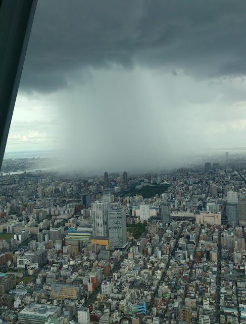 Hujan dari atas Pesawat