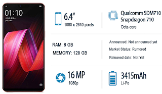Oppo R17 Pro - Full phone specifications