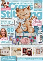 FIND BLUE RIBBON DESIGNS IN ISSUE 216 (APRIL 2014) OF THE WORLD OF CROSS STITCHING MAGAZINE