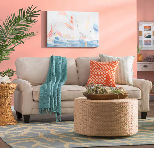 Wayfair Designer Living Room Coastal Inspiration