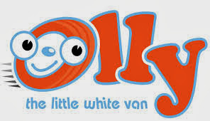 children and kids olly the little white van DVD