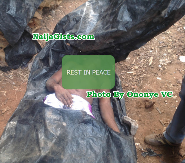 homeless man falls off building onitsha anambra