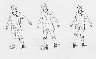 Teknik Menendang Bola Dengan Kaki Bagian Luar