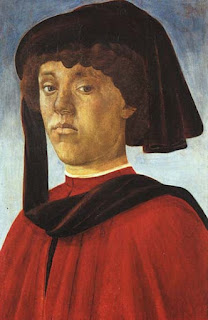 Botticelli's 1479 Portrait of a Young Man,  is thought to be Lorenzo di Pierfrancesco
