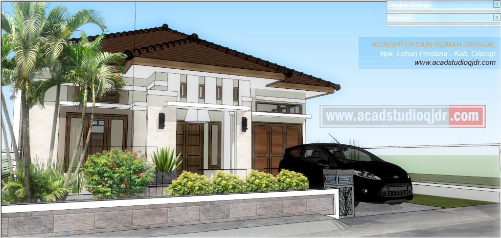 Desain Rumah Idaman Keluarga Ukuran 9x12  Jasa Desain Rumah