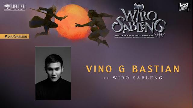 Vino G Bastian sebagai Wiro Sableng