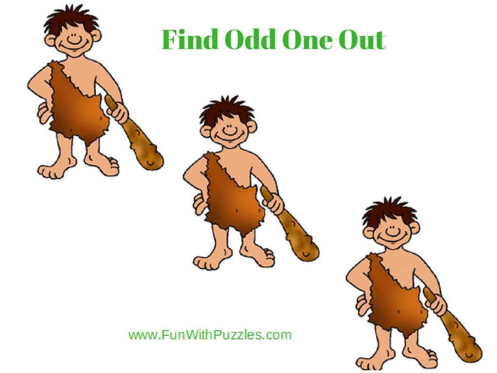 Tough Odd One Out Picture Puzzles For Teens And Adults