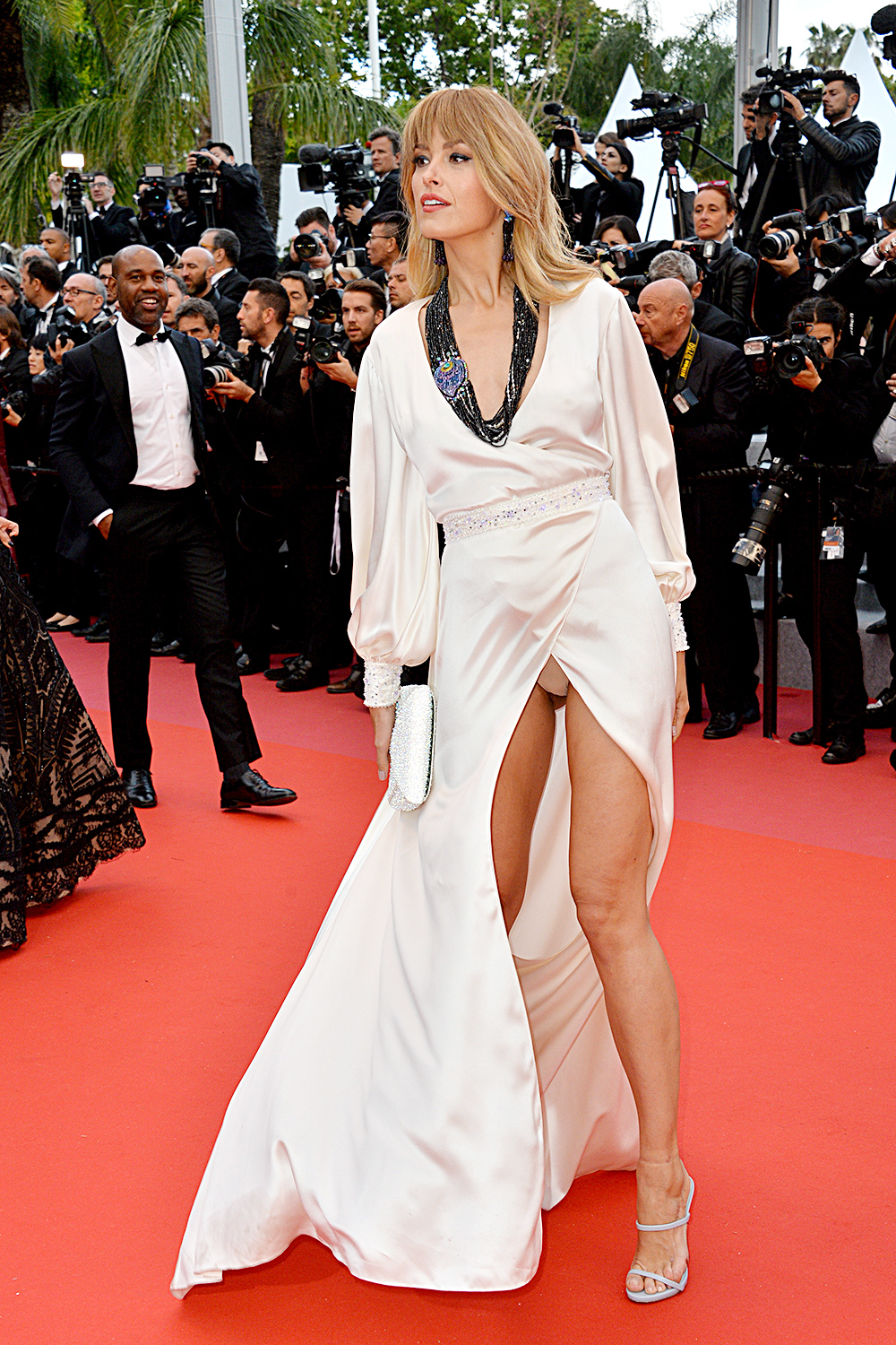 Petra Nemcova Flashes Underwear In Major Wardrobe Malfunction At Cannes