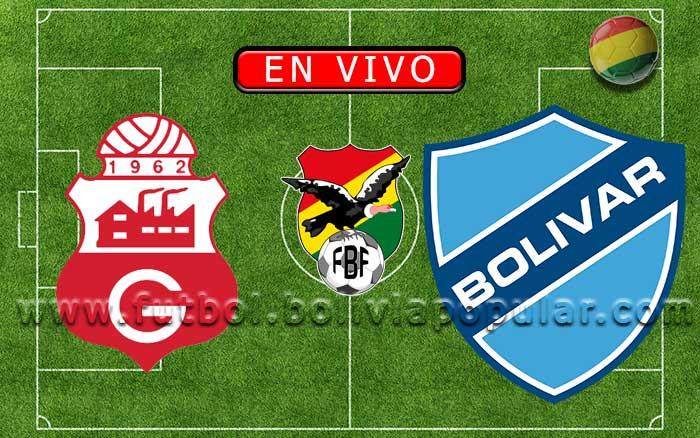 【En Vivo】Guabirá vs. Bolívar - Torneo Apertura 2020