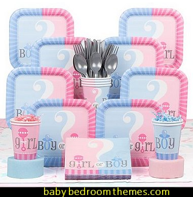 Gender Reveal Deluxe Kit baby shower decorations