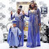 CELEBRITY LIFE: Toyin Lawani and Her Kids Step Out In Lovely Matching Outfits!
