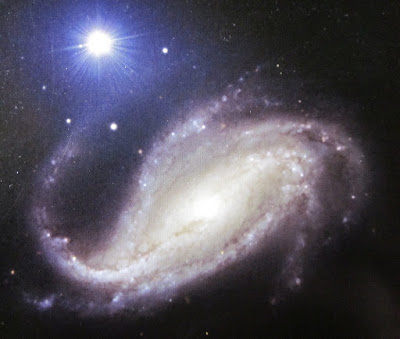 NGC 613 galaxy in Sculptor — my photo of an Illustrated Atlas of the Universe (2006) image