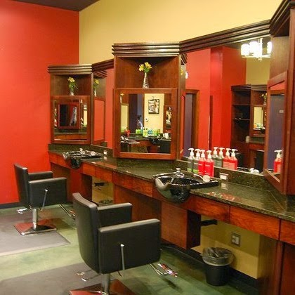 salon styling stations