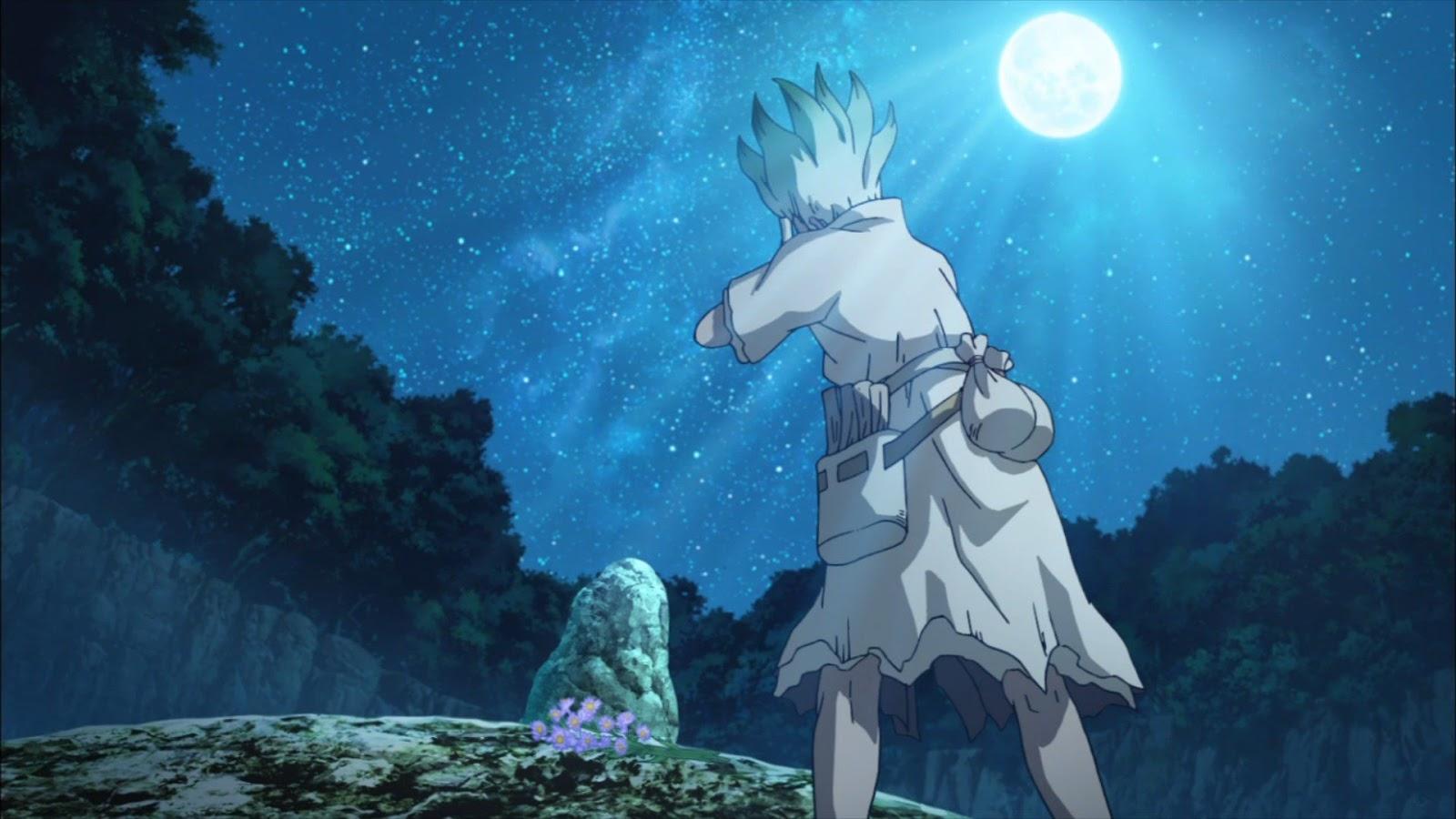 アニメ「ドクターストーン」17話感想 私達の祖先は空にいたの【おとぎ話】