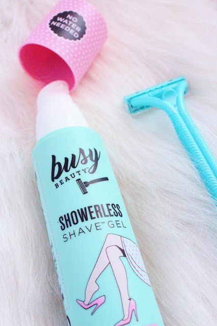 Busy Beauty Natural Showerless Shaving Gel Review | City of Creative Dreams